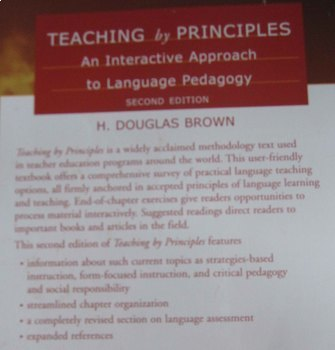 TEXTBOOK Teaching by Principles interactive approach language pedagogy INCship