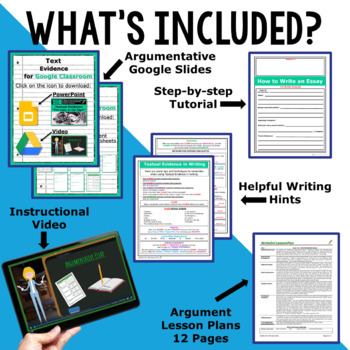 TEXT EVIDENCE / CONSTRUCTED RESPONSE BUNDLE!!! 5 Lessons!!  High School