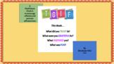 TGIF Mindfulness Activity