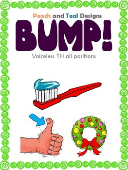 TH All Positions Articulation Bump! File Folder Game