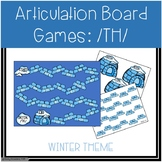 /TH/ Articulation Board Games - Winter Theme