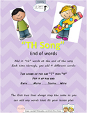 """TH"" Articulation Song (end of words)"