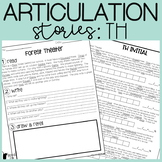 TH Articulation Stories with Language Component