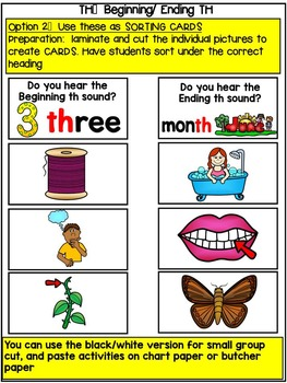 TH CLIP IT LITERACY CENTRE- BEGINNING AND ENDING TH-ADAPTABLE