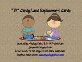 """""""TH"""" Candy Land Replacement Cards"""