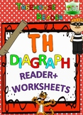 TH DIAGRAPH Reader & Worksheets & Flashcards: Thank You Theo