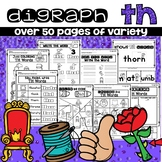 TH DIGRAPH WORKSHEETS PRACTICE