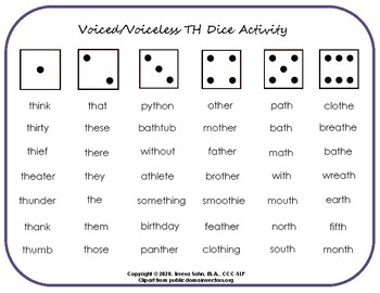 TH Dice Activity