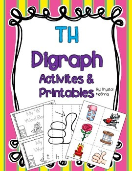 TH Digraph Activities and Printables