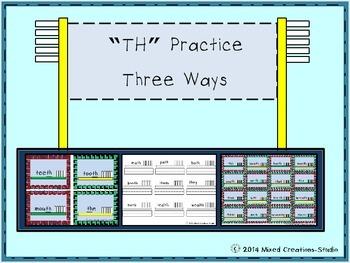TH Digraph Practice Three Ways