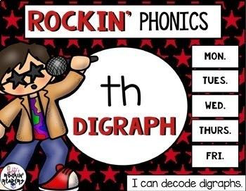 TH Digraph Rockin' Phonics