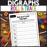 TH Digraphs Worksheets - Roll and Trace Digraphs