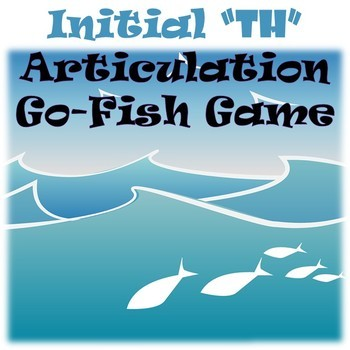 Initial TH Articulation Go Fish Game!