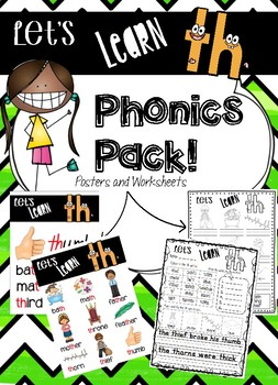 TH Phonics Pack - Lets Learn TH