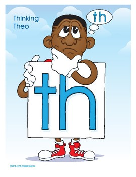 TH (Thinking Theo) Word Buddy Poster