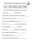 TH WORKSHEETS