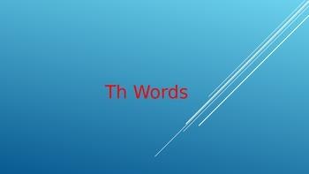 TH Word Bank