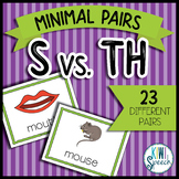 S vs. TH Minimal Pairs Flashcards