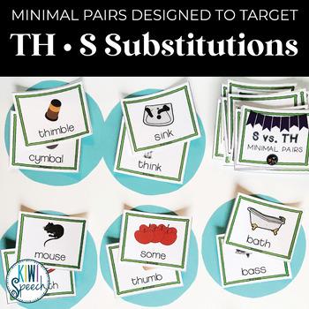 S vs. TH Minimal Pairs Flashcards