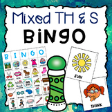 TH and S Mixed Articulation BINGO Activity