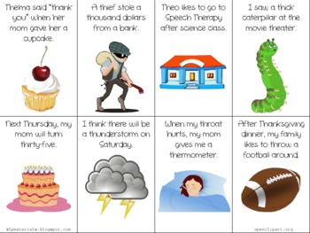 """TH"" in Sentences - Articulation Flash Cards"