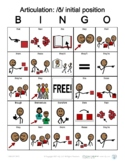 TH (voiced) Initial Position Articulation Bingo with SymbolStix