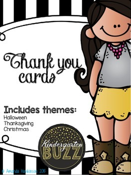 THANK YOU! Cards to send to students year around to say Thank you!