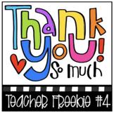 THANK YOU FREEBIE #4 (P4Clips Trioriginals) Teacher Appreciation