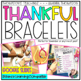 THANKFUL BRACELETS | a Thanksgiving activity