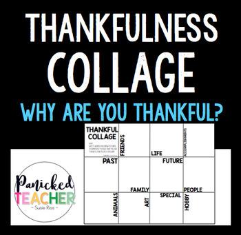 THANKFULNESS COLLAGE