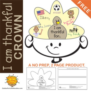 THANKFUL CROWN **Thanksgiving freebie**