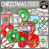 Drinks And Donuts Clip Art Set {Educlips Clipart}