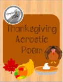 THANKFUL Thanksgiving Acrostic Poem