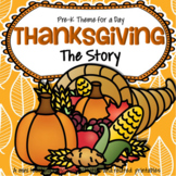THANKSGIVING Theme Centers and Activities for Preschool - The Story