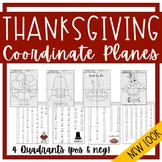THANKSGIVING 4-Quadrant Coordinate Planes