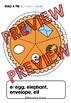THANKSGIVING ACTIVITIES: BUILD A PUMPKIN PIE ALPHABET CENT