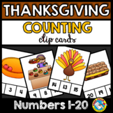THANKSGIVING ACTIVITIES (KINDERGARTEN COUNTING CENTERS) NU