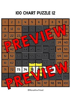 THANKSGIVING ACTIVITY 1ST GRADE, KINDERGARTEN (100 CHART MYSTERY PICTURE PUZZLES
