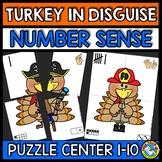 THANKSGIVING ACTIVITY KINDERGARTEN (TURKEY IN DISGUISE NUM