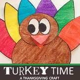 THANKSGIVING ACTIVITY: TURKEY CRAFT
