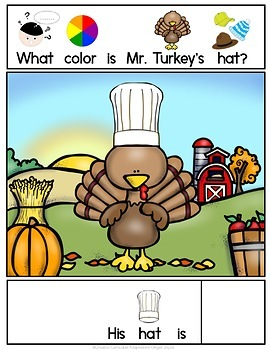 THANKSGIVING ADAPTED BOOK-Hats for Turkey