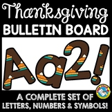THANKSGIVING CLASSROOM DECORATION (PUMPKIN PIE BULLETIN BOARD LETTERS PRINTABLE)