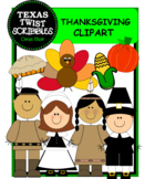 THANKSGIVING CLIPART {Texas Twist Scribbles}