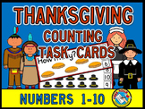 THANKSGIVING ACTIVITIES KINDERGARTEN (COUNTING CENTERS 1-10)