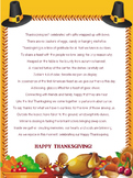THANKSGIVING DAY POEM  //  GREAT FOR PROJECTS AND CARDS