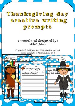 THANKSGIVING DAY creative writing prompts