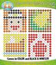 THANKSGIVING Dab-A-Dot Mystery Images Clipart {Zip-A-Dee-Doo-Dah Designs}