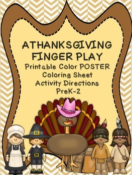 Freebie: Thanksgiving Finger Play for Preschool through Se