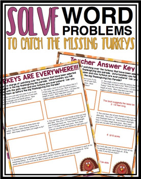 THANKSGIVING FRACTION MULTIPLICATION WORD PROBLEMS