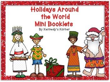 Holidays Around the World Mini Booklets